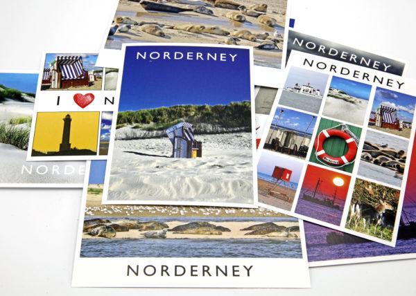 10er Set Postkarten